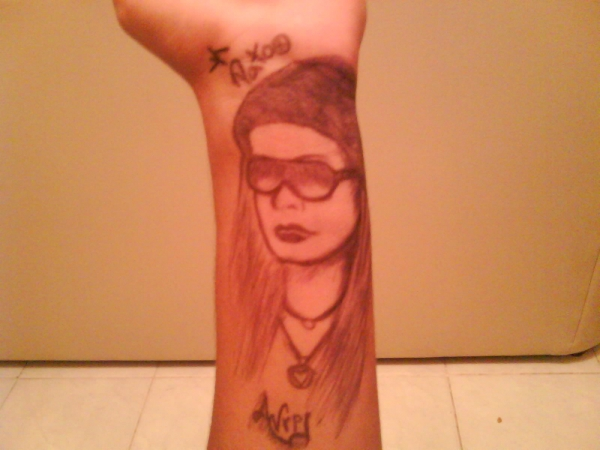 Avril Lavigne par yoshian17